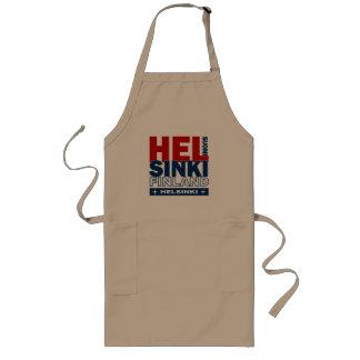 Det Helsingfors förklädet - välj stil & färga Långt Förkläde