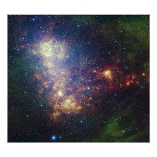 Det infraröda porträtt som avslöjer stjärnorna fototryck