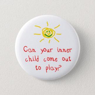 Det inre barnet knäppas standard knapp rund 5.7 cm