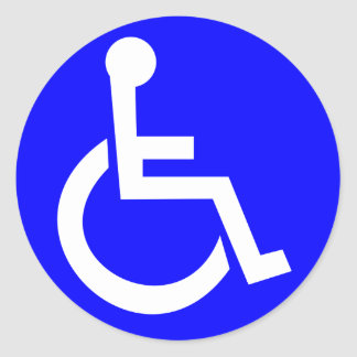 Det internationella symbolet av tar fram runt klistermärke