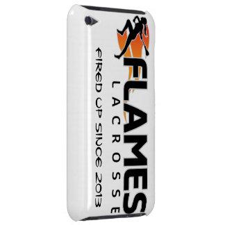 det iPod handlag flammar Lacrossefodral Barely There iPod Fodral