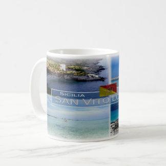 DET Italia - Sicilia - San Vito Lo Capo - Kaffemugg