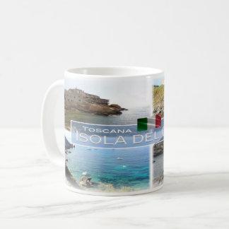 DET Italia - Toscana - Isola del Giglio - Kaffemugg