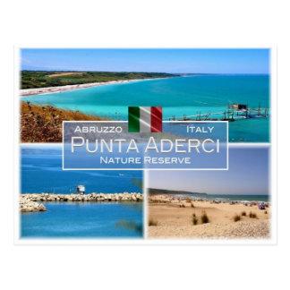 DET italien - Abruzzo - Punta Aderci - Vykort