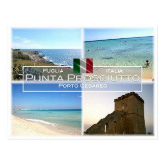 DET italien - Apulia - Punta Prosciutto - Vykort