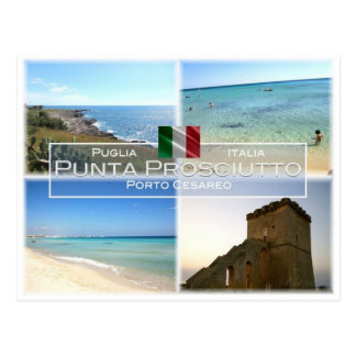 DET italien - Apulia - Punta Prosciutto - - Vykort