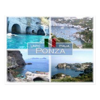 DET italien - Lazio - Ponza - Vykort