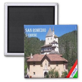 DET - italien - Trento Sanzeno - relikskrin av