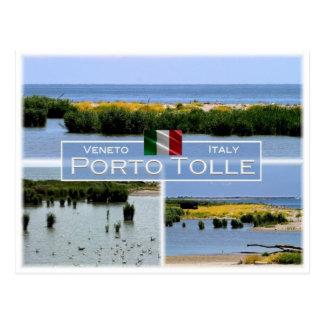 DET italien - Veneto - Porto Tolle - Vykort