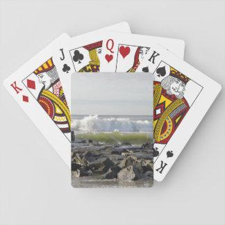 Det Jersey hav vinkar Spel Kort