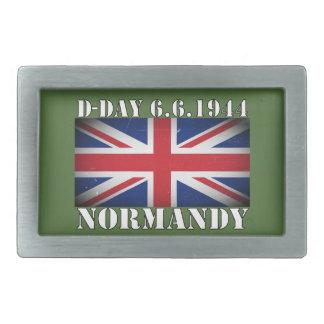 Det Juni 1944 för 6e för D-Dagen UK-flagga bältet