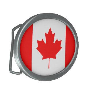 Det kanadensiska flaggabältet spänner fast