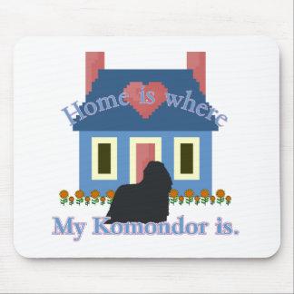 Det Komondor hemmet är Musmatta