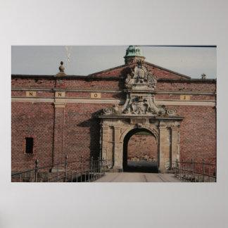 Det Kronborg slottet hänrycker Poster