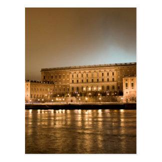 Det kungliga slottet, Stockholm sverige Vykort