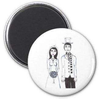 Det kusliga bröllop magnet