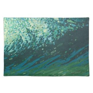 Det kust- hav vinkar bordstablett av Margaret Juul