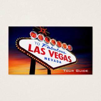 Det Las Vegas Nevada kasinot turnerar vägleder Visitkort