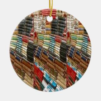 Det lästa BOKbokmalbibliotek lärer bokhyllaGÅVOR Julgransprydnad Keramik
