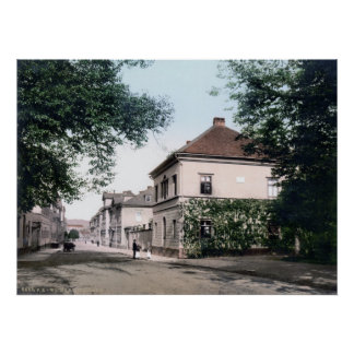 Det Liszt huset Poster
