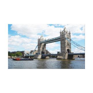 Det London torn överbryggar Canvastryck