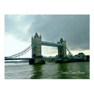 Det London torn överbryggar Vykort
