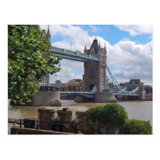 Det London torn överbryggar vykortet Vykort