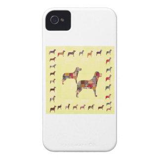 Det målade HUNDgåvahusdjuret LURAR iPhone 4 Fodraler