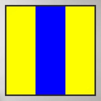 det maritima alfabetet signalerar flagga numrerar poster