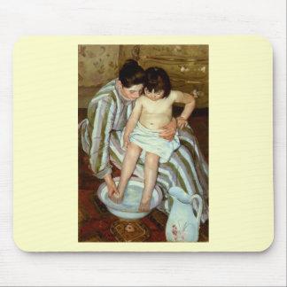 Det Mary Cassatts barnets bad (circa 1892) Musmatta
