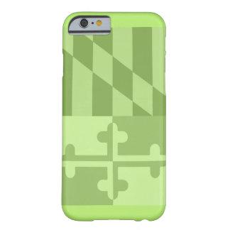 Det mobila fodral för den Maryland flagga (lodrät) Barely There iPhone 6 Fodral