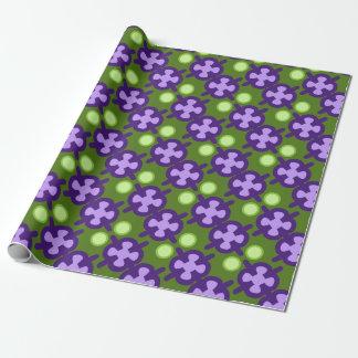 Det moderna geometriska mönster, skuggar av grönt presentpapper