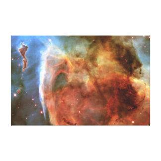 Det molekylära molnet för nyckel- hål canvastryck