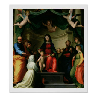 Det Mystic giftermål av St. Catherine av Siena med Poster
