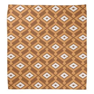 Det NavajoIkat mönster - bryna, rosta och laga mat Bandana