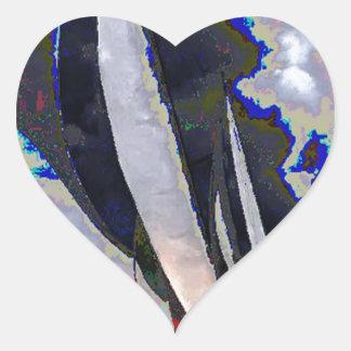 Det Nigara nedgångfartyget seglar det Toronto Hjärtformat Klistermärke