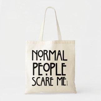 Det normalafolket skrämmer mig - en trendig hänger tygkasse