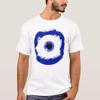 Det onda ögamönster tee shirts
