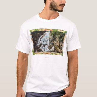 Det Ossipee berg parkerar beskådar av möhippa Tee Shirts