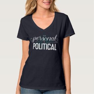 Det personligt är den politiska inpassade t shirts