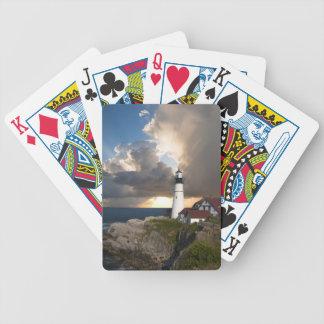 Det Portland huvudet tänder, Maine som leker kort Spelkort