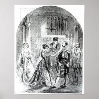 Det privata giftermål av Anne Boleyn Poster