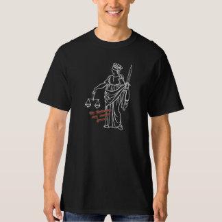 Det rättfärdigt är alltid skyldigt - T-skjortan T Shirt