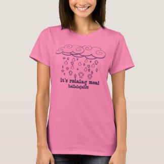 Det regnar manarskjortan tee shirts