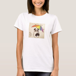 det regnar skjortan för kärlekanimepandaen tee