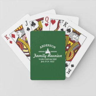 Det Retro familjmötet eller snubblar | lantliga Spelkort