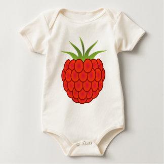 Det röda hallon fodrar konst bodies för bebisar