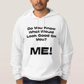 Det roliga citationstecknet vet du vad den skulle sweatshirt