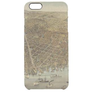 Det San Francisco fågelögat beskådar Clear iPhone 6 Plus Skal