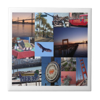 Det San Francisco fotoet belägger med tegel Kakelplatta